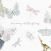 Cute butterfly graphics for papercraft projects