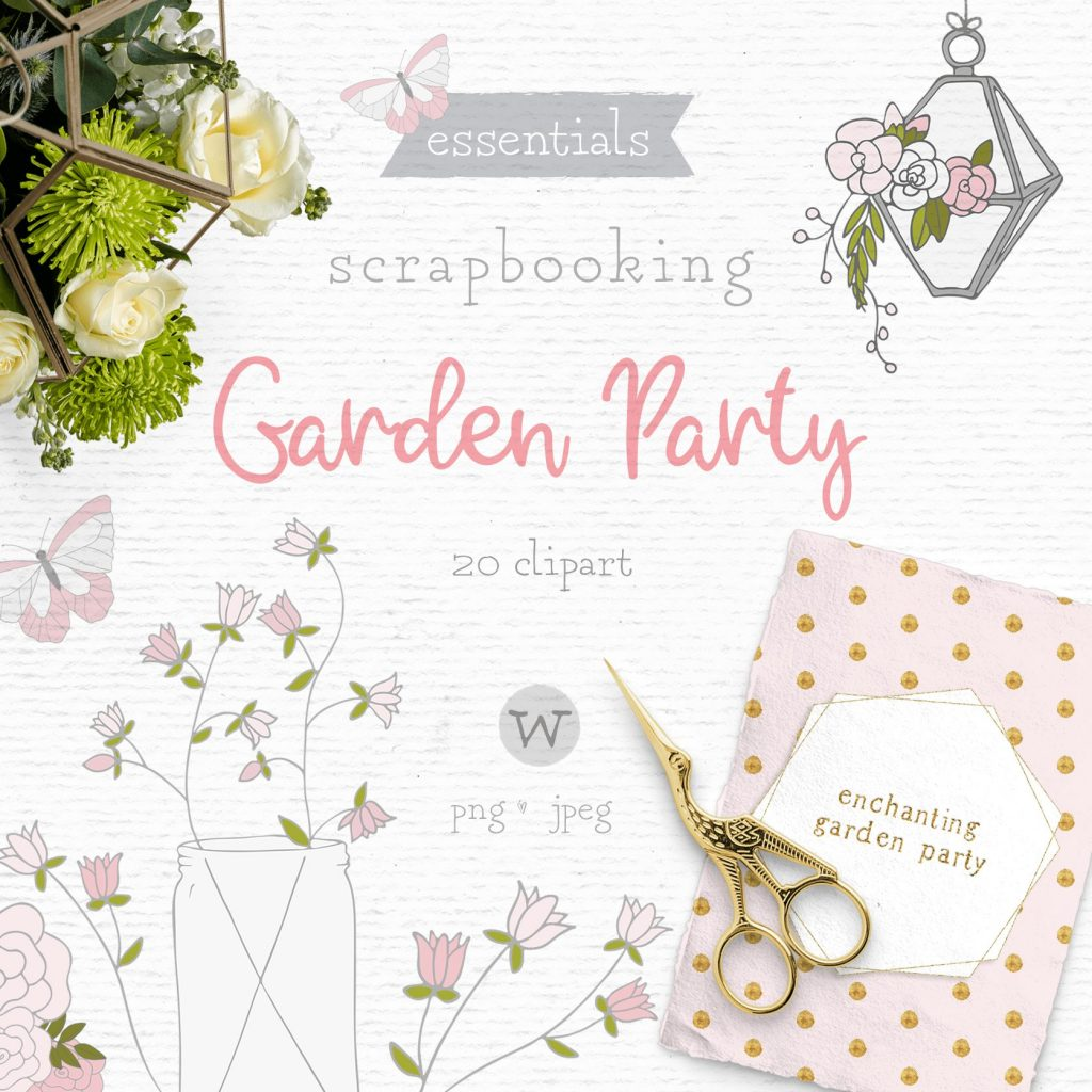 Whimiscal clip art graphics pack