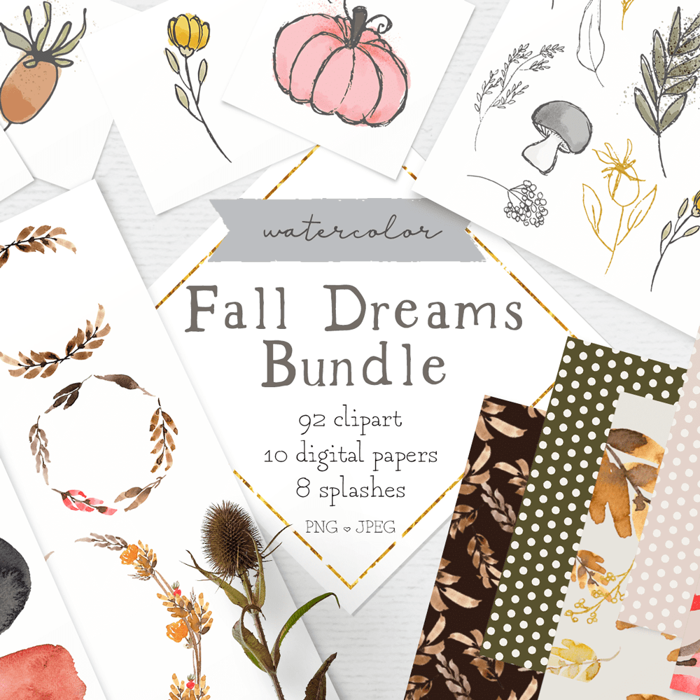 fall clipart pack