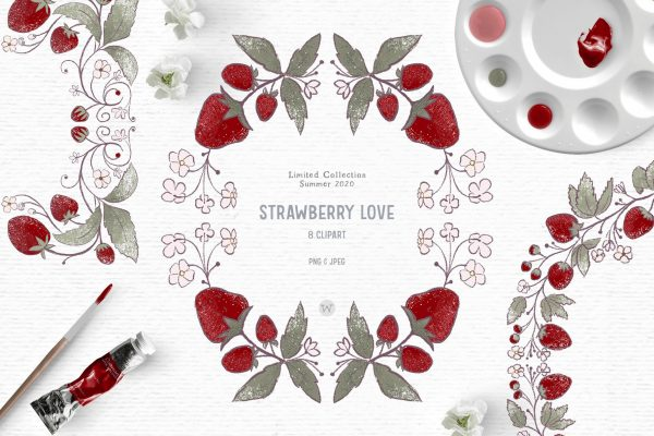 strawberry clipart images