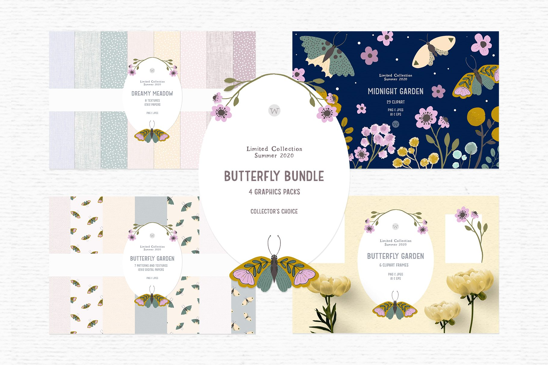cute butterfly clipart graphics